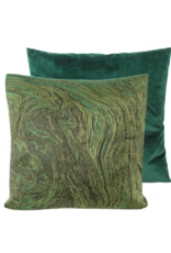 """Jade Ebru Pillow 22"""" x 22"""""""