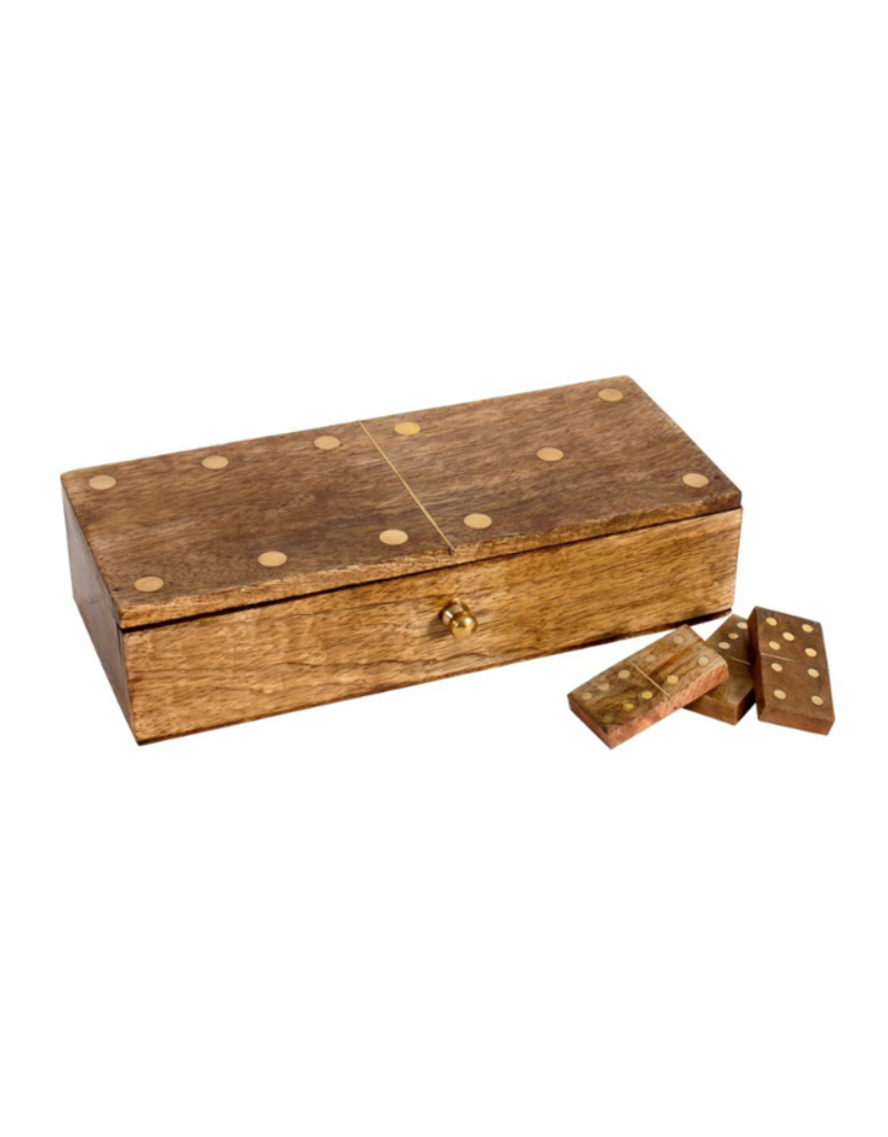 Dominos Game in Wood Box