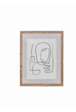 """Homme Art Print 27.5"""" x 21.5"""""""