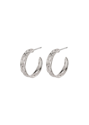 PILGRIM Compassion Silver-Plated Earrings by Pilgrim
