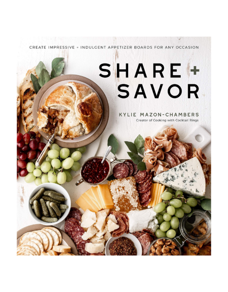 Share and Savor Boards Book