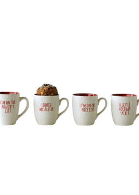 Christmas Mug Stoneware