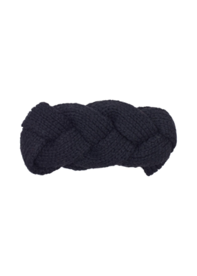 Recycled Cable Headband Black by Echo