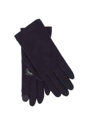 Comfort Stretch Touch Glove Black by Echo