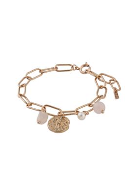 PILGRIM Warmth Rose Gold-Plated Bracelet by Pilgrim