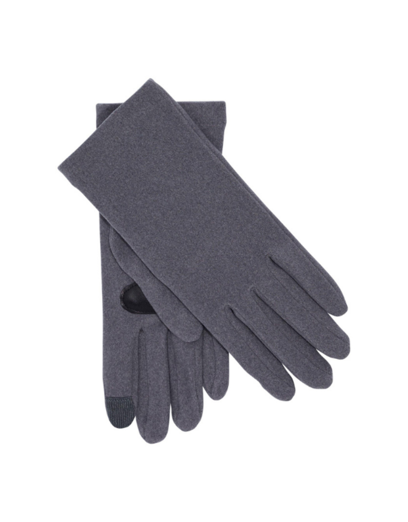 Comfort Stretch Touch Glove Grey by Echo