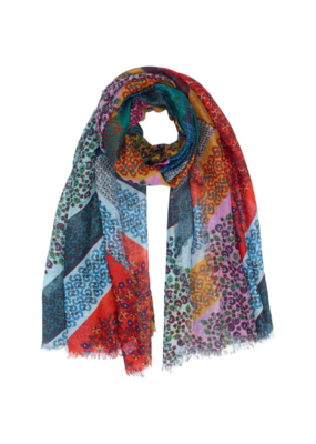 Patchwork Ditsy Wrap Multi by Echo