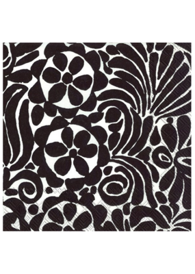 marimekko Lunch Napkin Tamara in Black