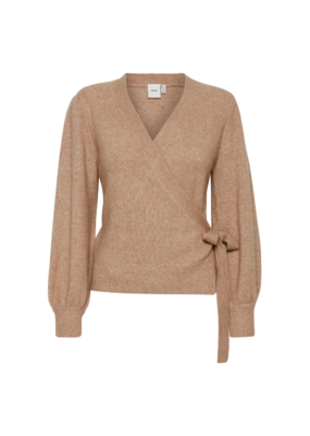 ICHI Olene Cardigan in Natural by ICHI