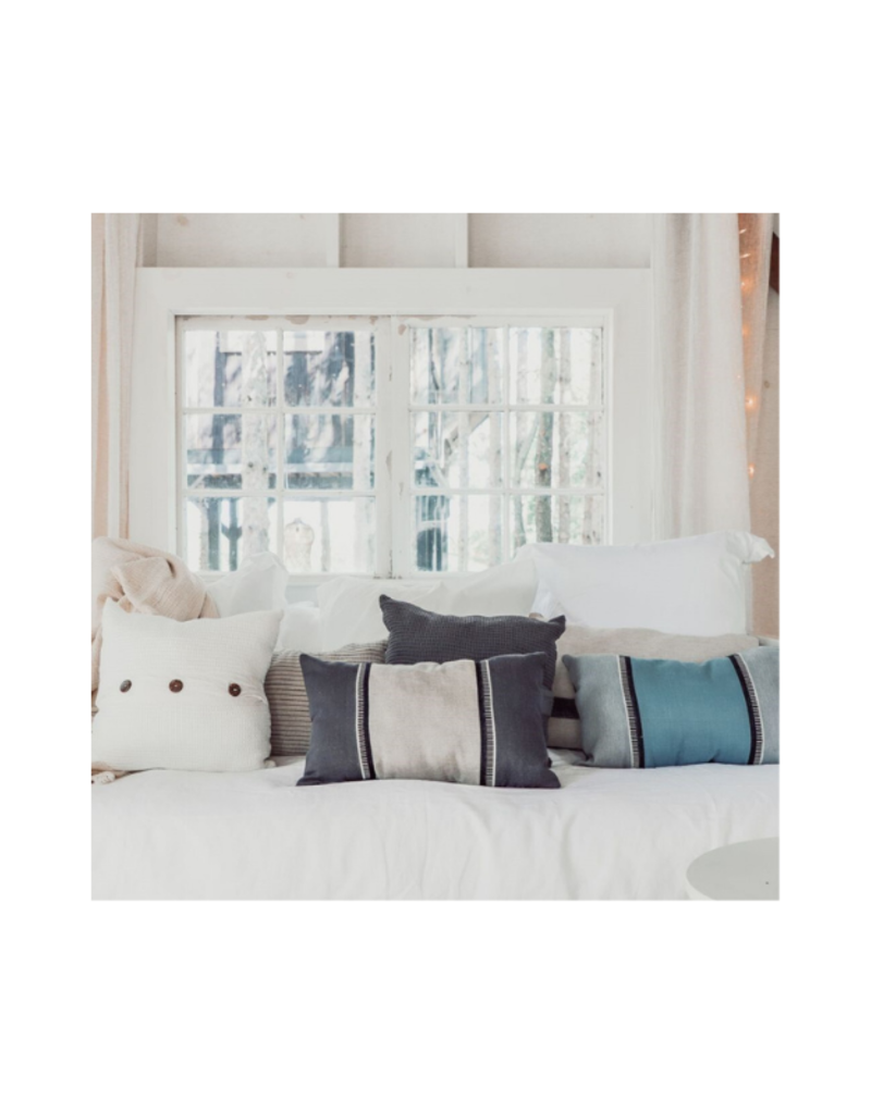 "Annie Pillow 14""x22"" in Soot"