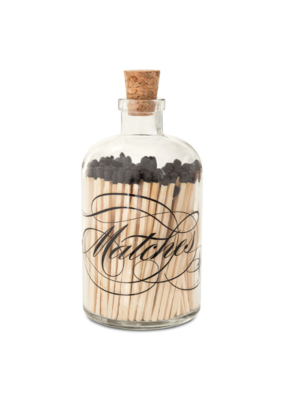Skeem Calligraphy Apothecary Match Bottle Large