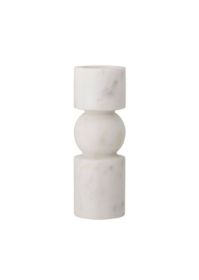 Bloomingville White Marble Tealight Holder