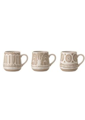 Bloomingville Stoneware Mug with Hand Painting