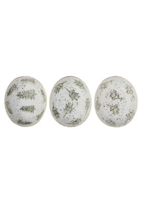 Hand Painted Stoneware Dish