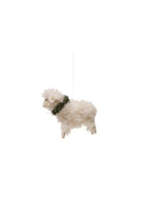 Wool Felt Sheep Ornament