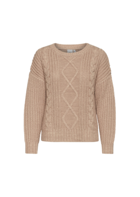 ICHI Letty Sweater by Natural by ICHI