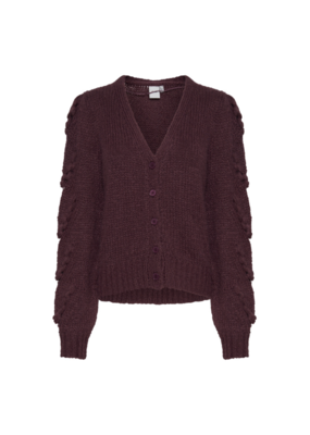 ICHI Mabel Cardigan in Crushed Violets by ICHI