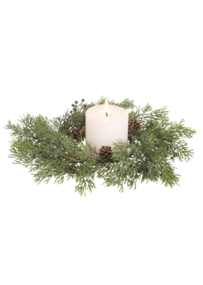 "13"" Juniper Wreath"