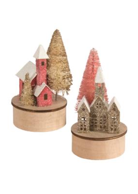 Mini Paper House 2 Styles