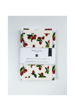 Ten & Co. Swedish Sponge Cloth & Towel Gift Set in Vintage Fruit