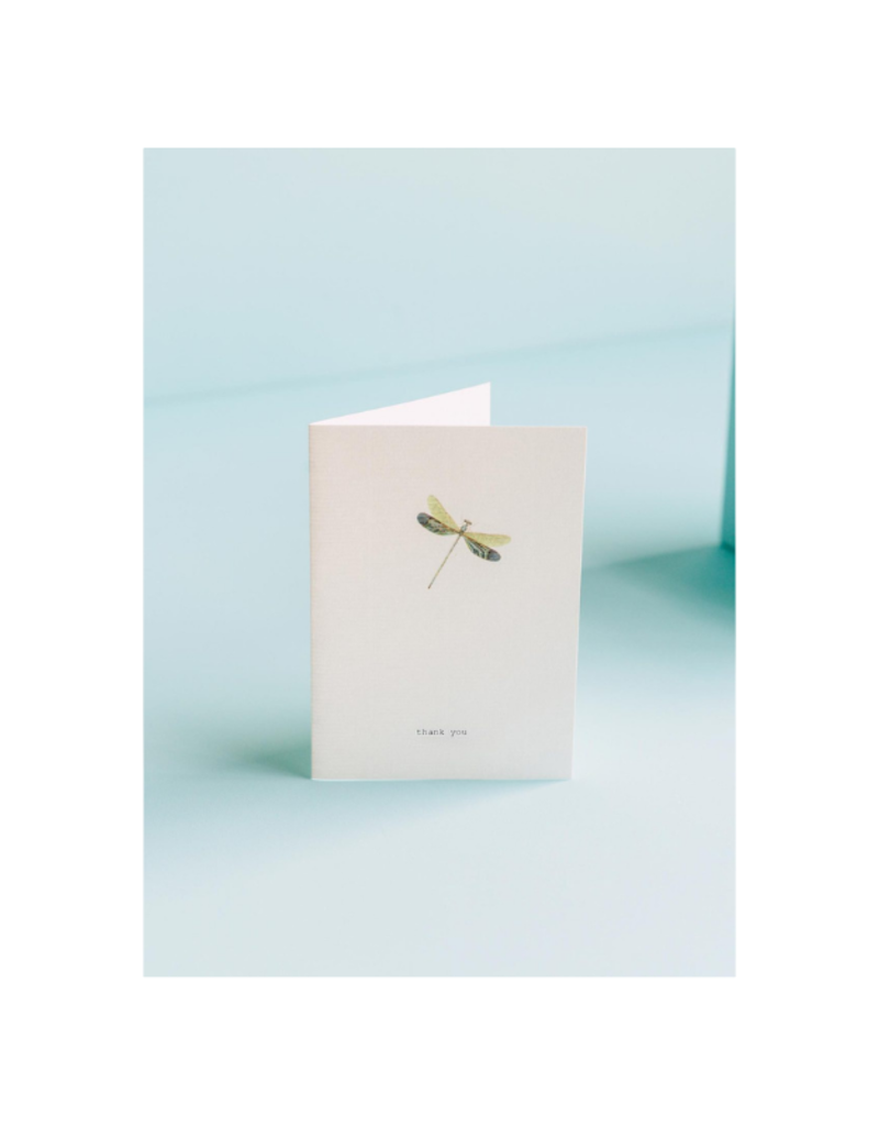 Thank you Dragonfly Card