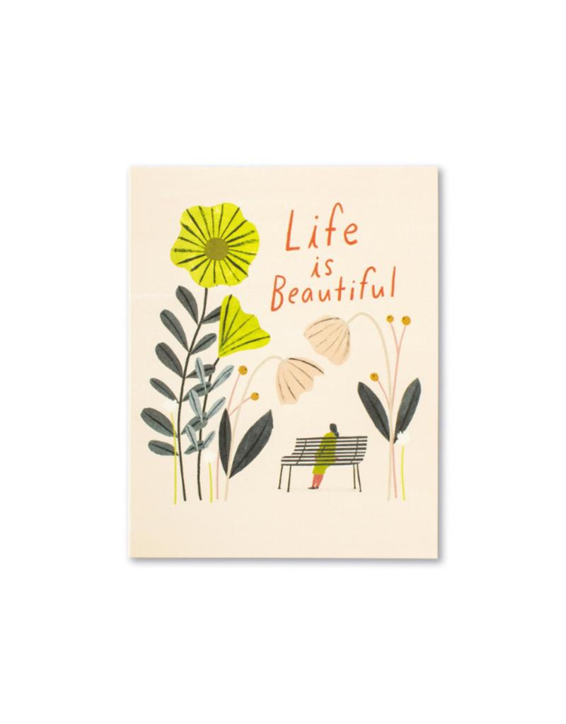 Life Is Beautiful - Birthday Card