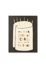 May Your Birthday Be Frosting - Birthday Card