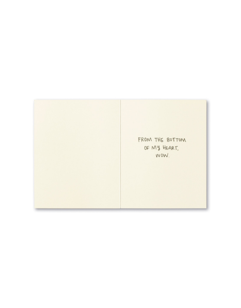 Wow - Thank You Card