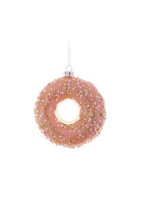 Sprinkle Donut Ornament