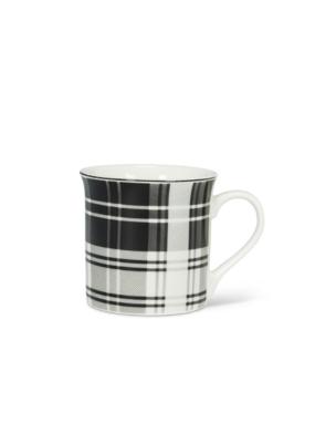 Black & White Plaid Mug I