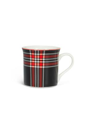 Black & Red Plaid Mug II