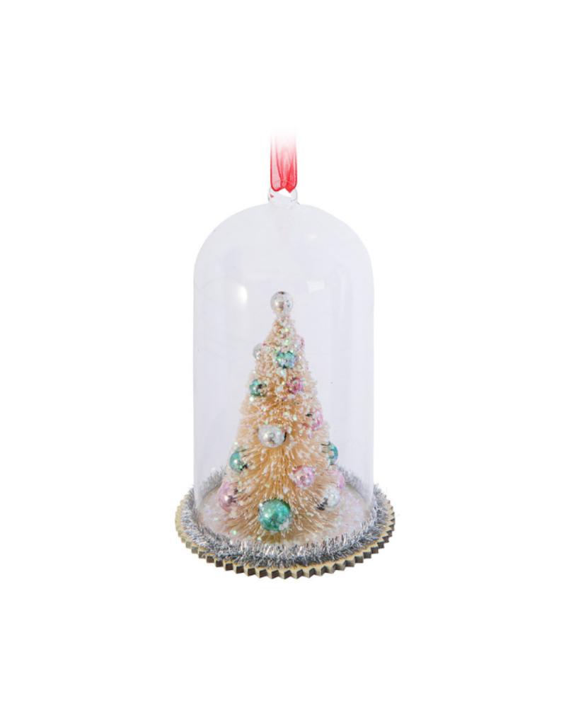 Tree In Cloche Ornament