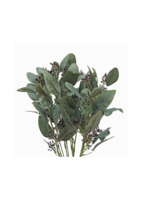 """Seeded Eucalyptus Bush Grey 19"""""""