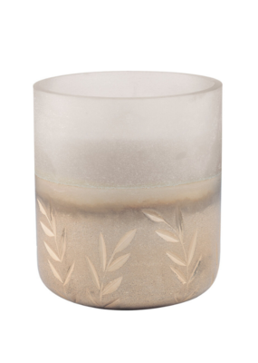 Illume Balsam & Cedar Large Frosted Glass