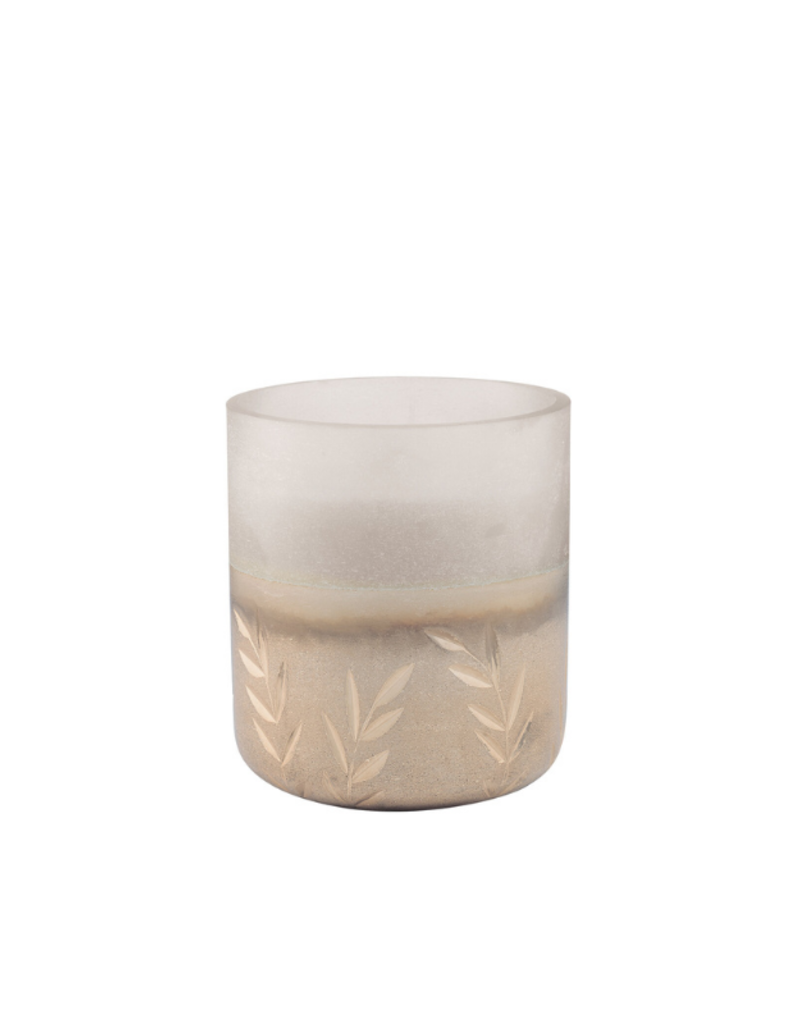 Illume Balsam & Cedar Small Frosted Glass