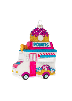 kat + annie Sparkly Donut Truck Ornament by kat + annie