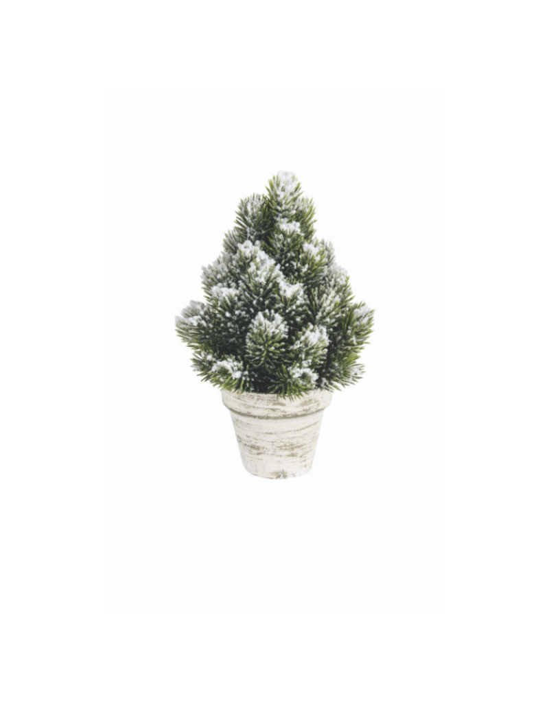Small Snowy Spruce Tabletop Tree