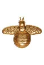 Cast Iron Gold Bee Shaped Dish Gold