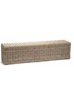 Rattan Wicker Bench