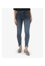 Kut from the Kloth Connie High Rise Ankle Skinny with Fab Ab in Crucial Wash by Kut from the Kloth