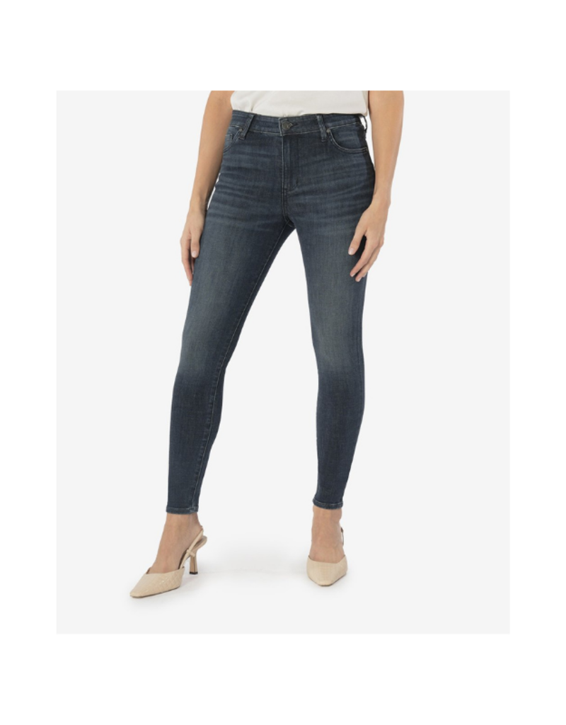 Mia High Rise Toothpick Skinny in View Wash by Kut from the Kloth