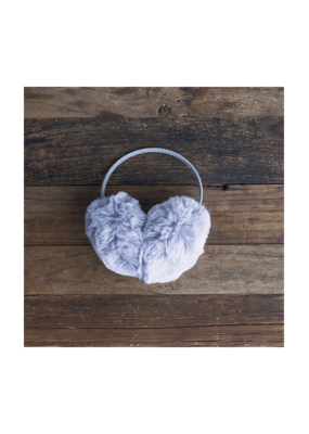 Fur Earmuffs Grey by Lemon Loungewear