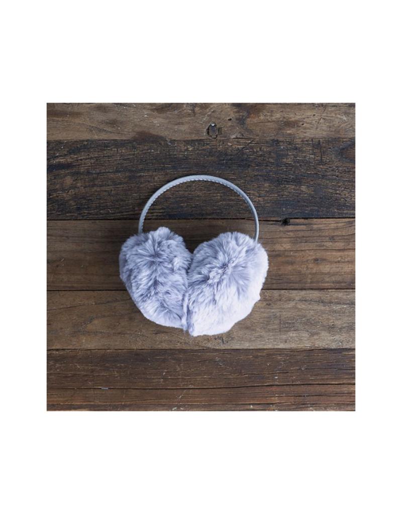 Fur Earmuffs Grey by Lemon Loungewear