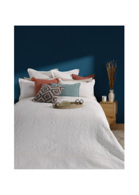 Taylor Coverlet Cream by Brunelli