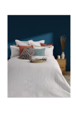 Taylor Coverlet White by Brunelli