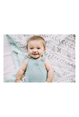 LouLou Lollipop Loulou Lollipop Muslin Quilt Blanket in Mudcloth