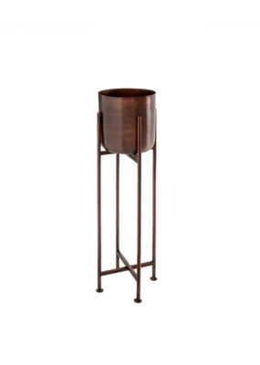 Small Sooke Iron Plant Stand in Grape