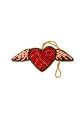 Winged Heart Plush Ornament