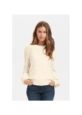 Part Two Petrina Sweater in Eggnog by Part Two