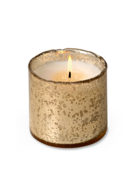 himalayan trading post Sunlight In The Forest Artisan Glass Candle by Himalayan Handmade Candle